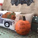 Displaying Thankfulness with a Pumpkin