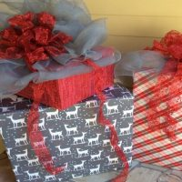 Boxes, Bows, and Ribbons—OH MY