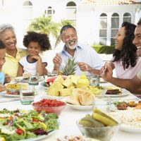 There is More Than Just Food at a Family Dinner