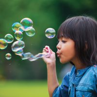 Bubbles! A Great Family Stress Reliever